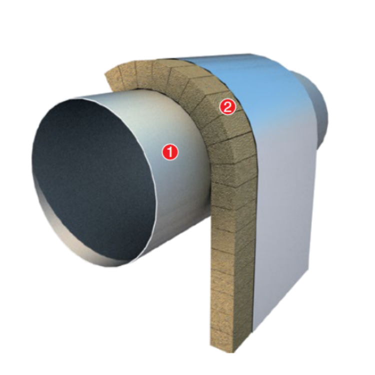 TANKS AND AIR DUCTS INSULATION