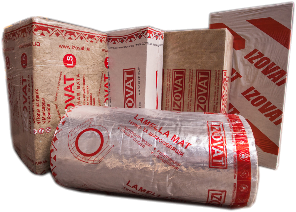 Storage of the thermal insulation materials